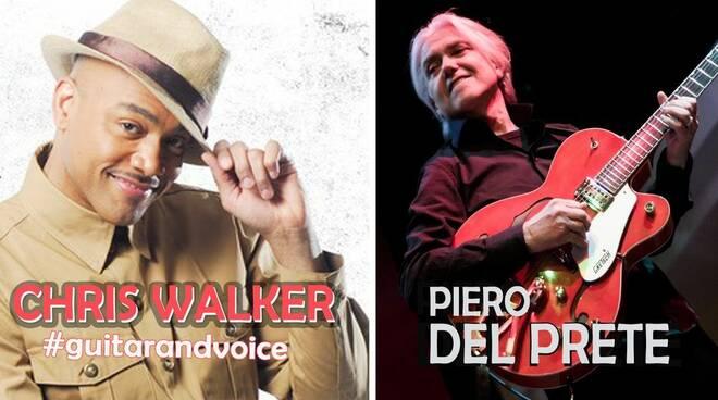 Colpo grosso a#guitarandvoicecon il grande performer Chris Walker , erede di Al Jarreau.