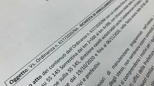 Castellammare di Stabia. Accolta la richiesta di annullamento dell'ordinanza Anas da parte del sindaco
