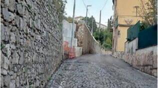 Cava de' Tirreni. Odissea strade, via Pastore riapre