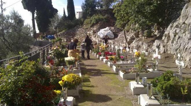 cimitero positano