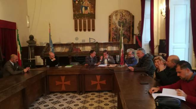 Conferenza dei sindaci Costa d' Amalfi