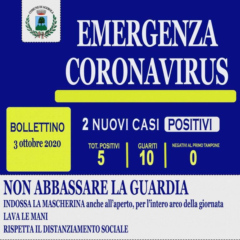 Coronavirus. Due nuovi casi positivi ad Agerola: entrambi asintomatici ed in buone condizioni