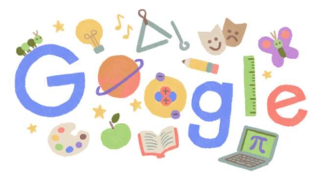 Doodle di Google dedicato agli insegnanti
