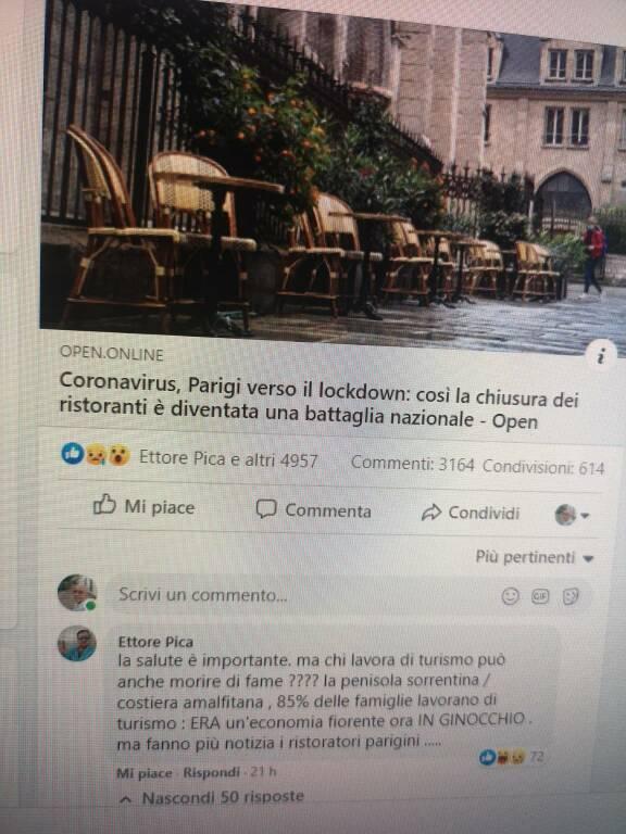 Ettore Pica sulla pagina di Mentana