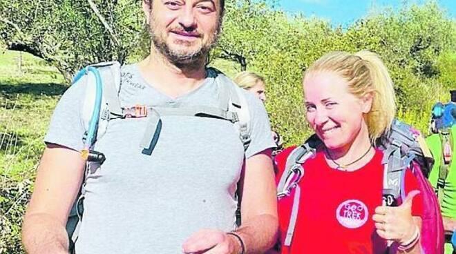Federico e Valentina il Cilento a piedi