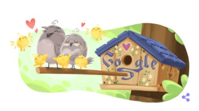 Festa dei nonni: il Doodle di Google di oggi è dedicato a loro