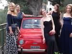Fiat 500 di Lauretano Open Gate a Praiano