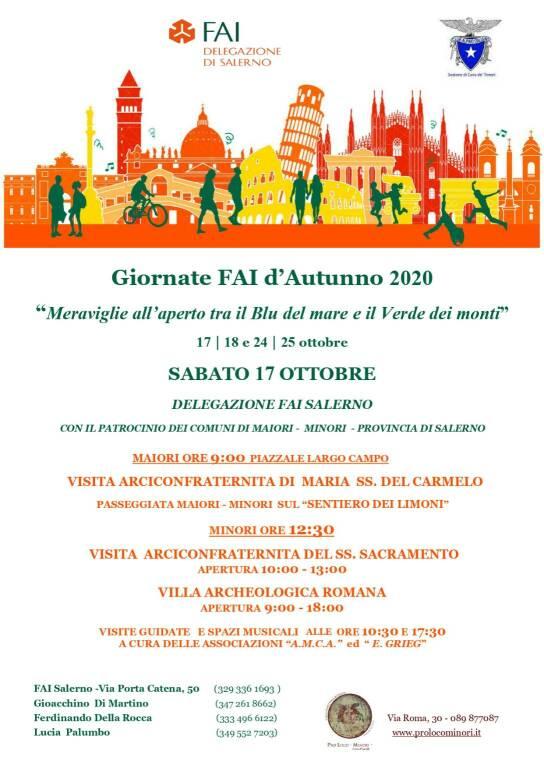 giornate FAI autunno evento 17 ottobre