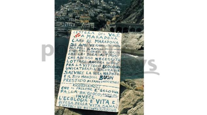 lettera raffaele vep a maradona