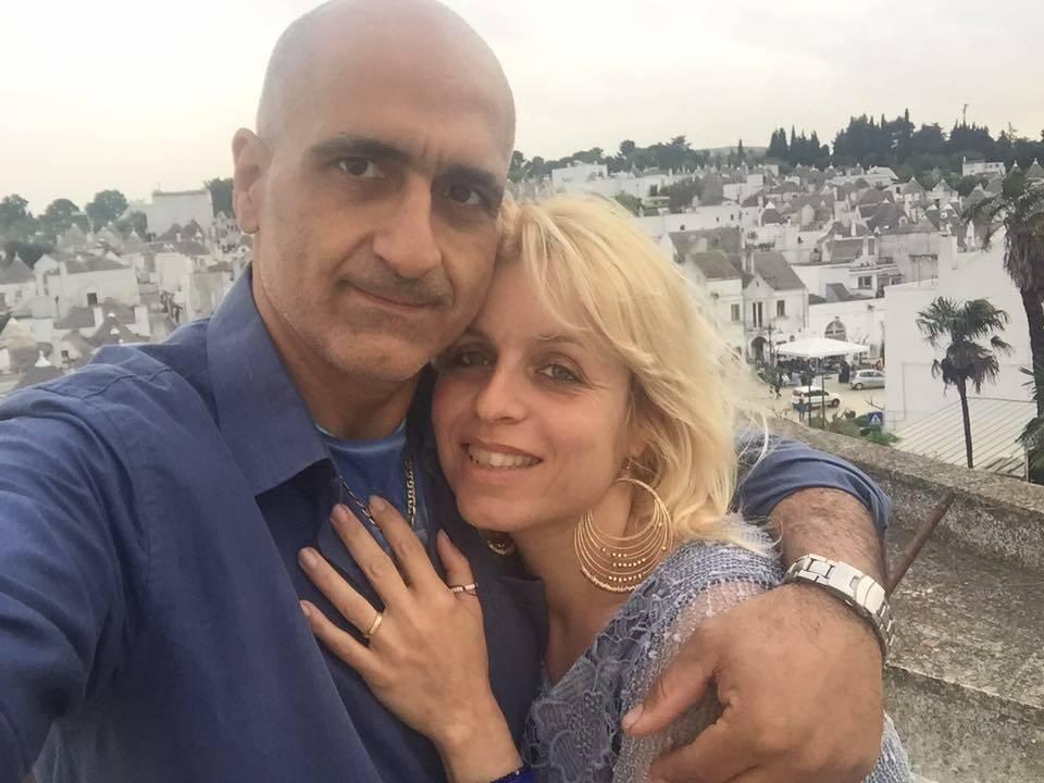 Luciano Irace e Rosaria Cascone
