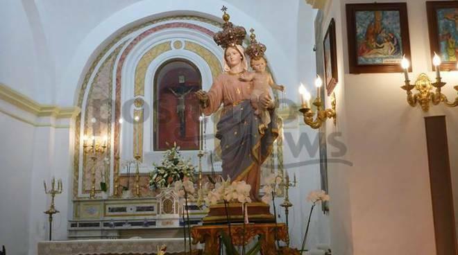 madonna del rosario positano