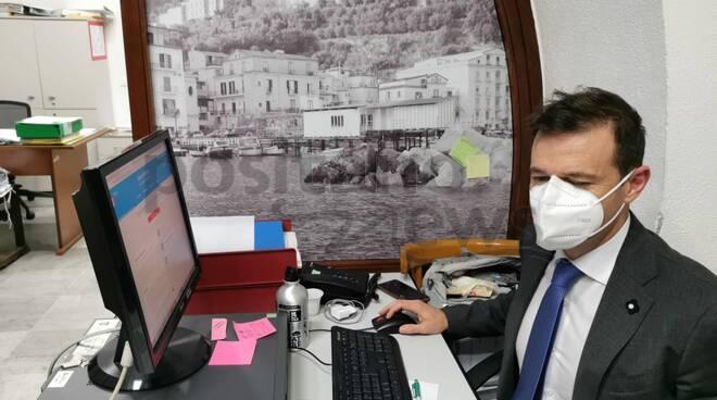 Massimo Coppola al Comune di Sorrento