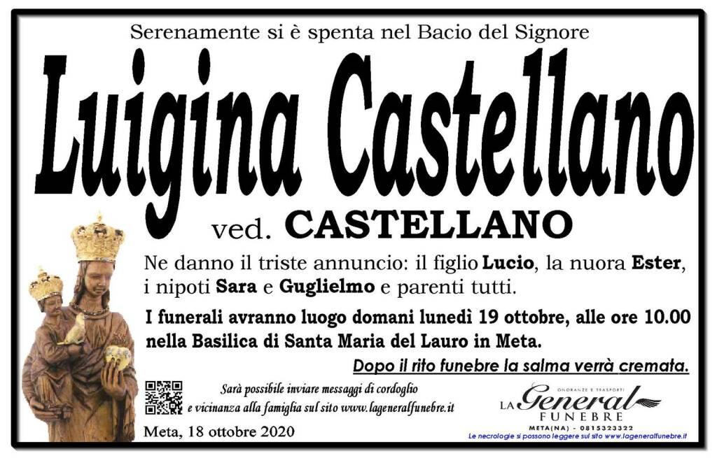Meta. Si è spenta Luigina Castellano, vedova Castellano