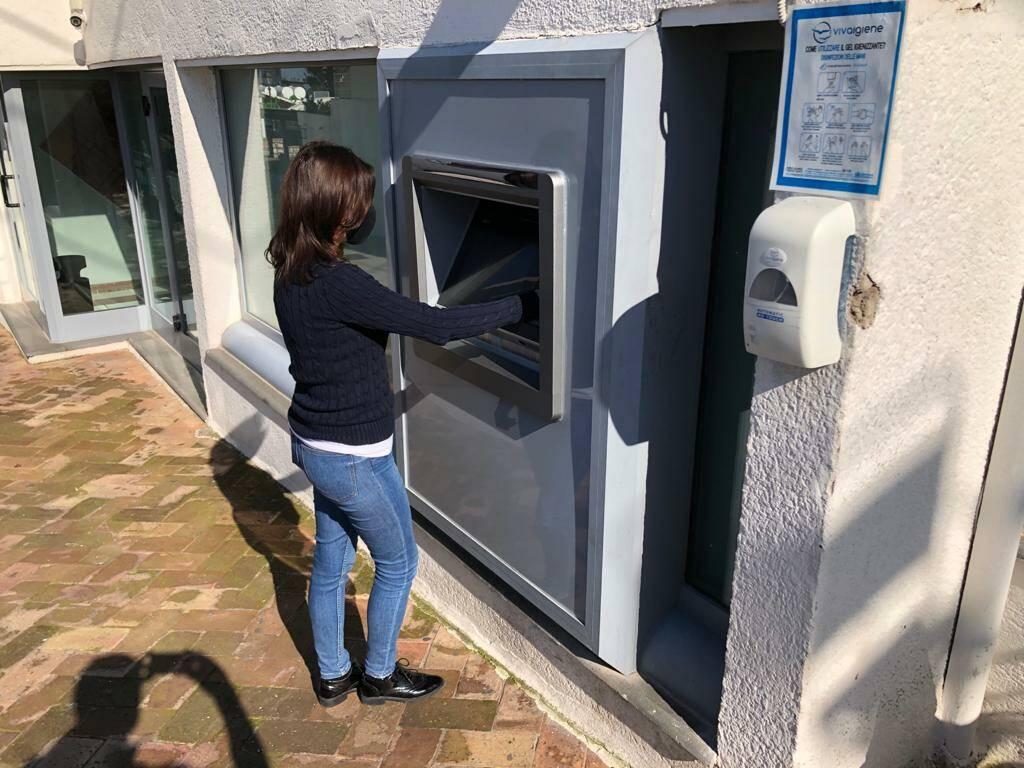 Nuovo sportello ATM ad Anacapri