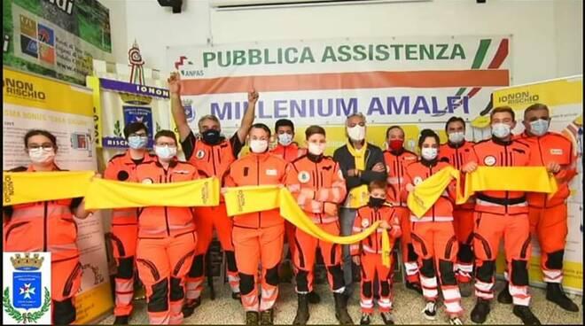 """P.A. Millenium Costa d'Amalfi: conclusa la giornata dedicata alla campagna """"Io non rischio"""""""