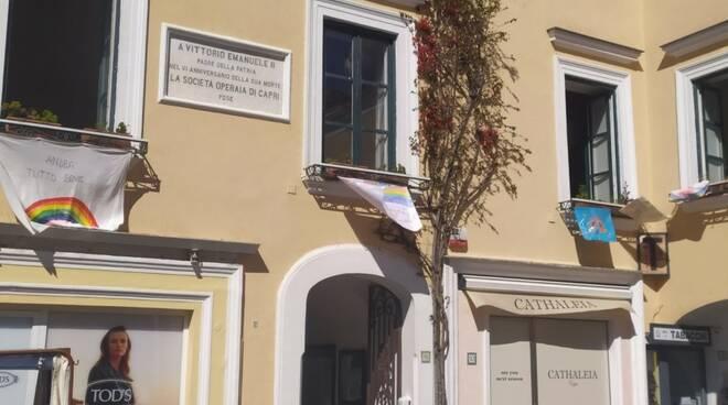 piazzetta municipio capri