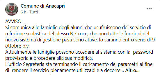 post anacapri