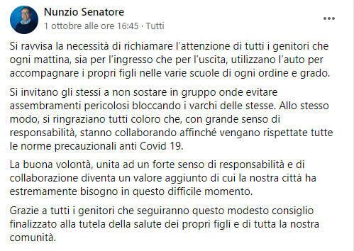 post senatore