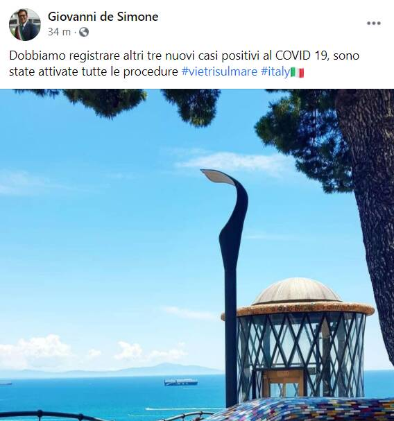 post sindaco vietri