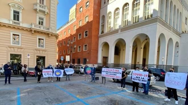 protesta salerno