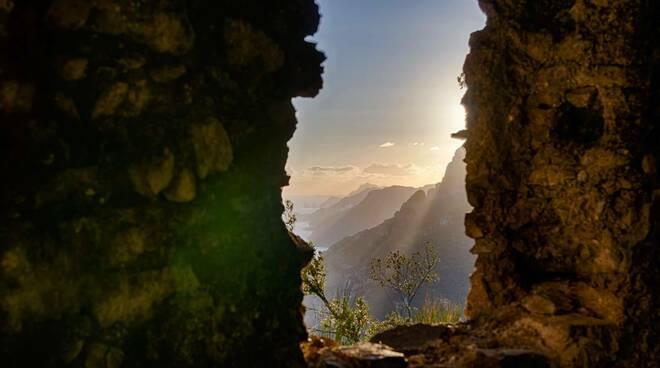 quadro jane della costiera amalfitana
