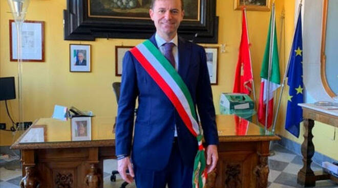 Sorrento, la proclamazione del nuovo sindaco, Massimo Coppola
