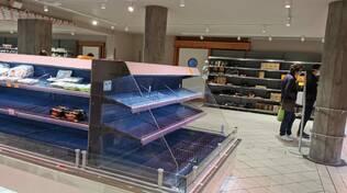 Supermercati presi d'assalto in Penisola Sorrentina: manteniamo la calma