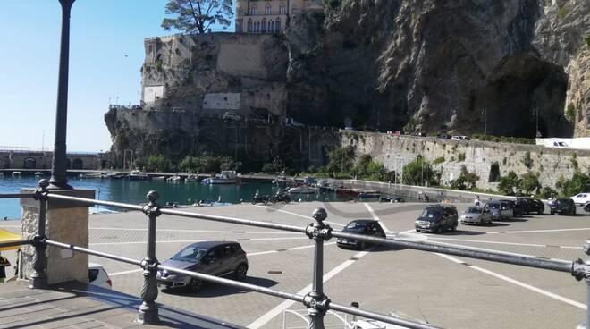 tamponi drive in al porto di maiori - foto Valeria Civale