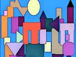 Viviana Pallotta - 2020 - Urbs - digital art - 40,0x40,0 cm