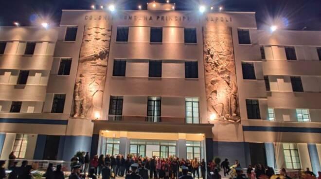 Agerola. Un anno dall'inaugurazione del Campus Principe di Napoli