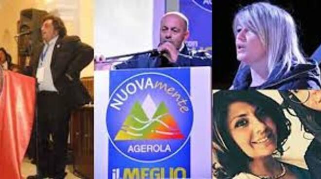 Andrea Buonocore e Giunta Mascolo ad Agerola