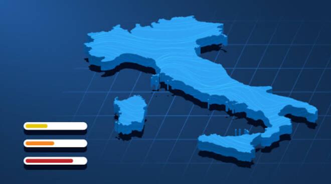 aree covid italia