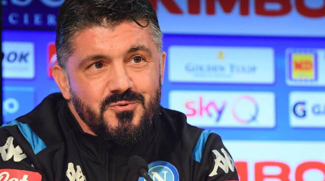 Napoli, Gattuso: ''non morirà mai perché è una leggenda''