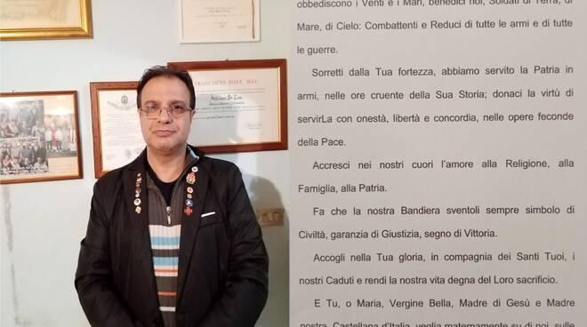 Federazione di Salerno, Sezione di Sanza: 4 Novembre - Presidente Cav. N. H. Attilio De Lisa