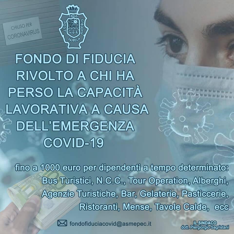 Coronavirus. A Sant'Agnello 3 bandi per aiutare chi ne ha bisogno