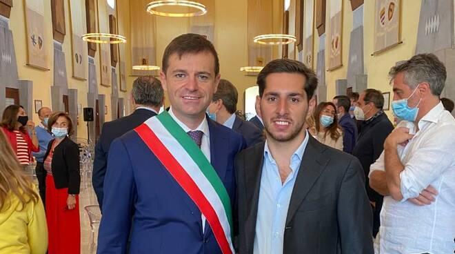 Eduardo Fiorentino con Massimo Coppola