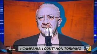 Giletti contro De Luca