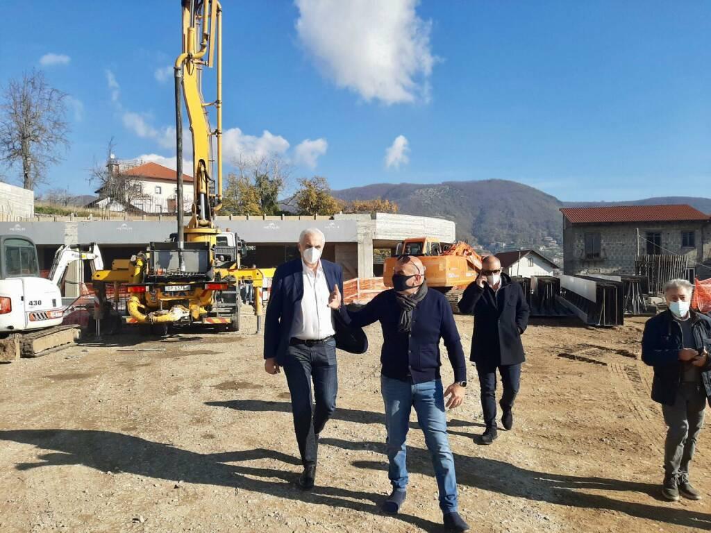 L'assessore regionale Nicola Caputo ad Agerola, il sindaco Luca Mascolo: «Necessario trovare soluzioni per salvaguardare il comparto agricolo»