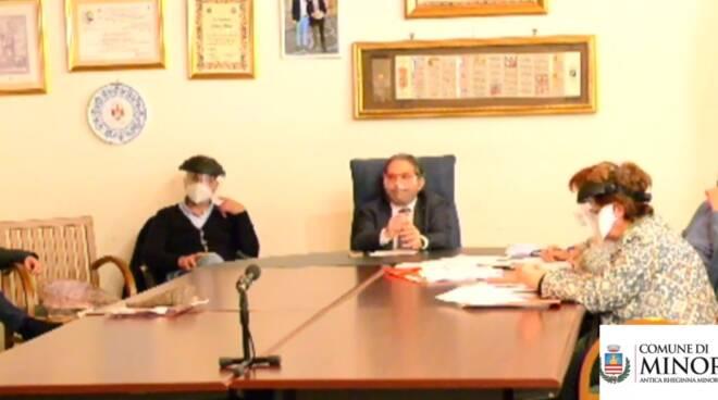 Minori, il Consiglio Comunale in diretta streaming sulla pagina Facebook