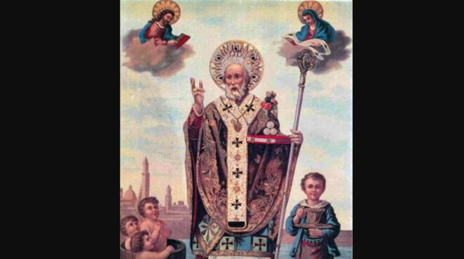 Oggi la Chiesa festeggia San Nicola di Bari