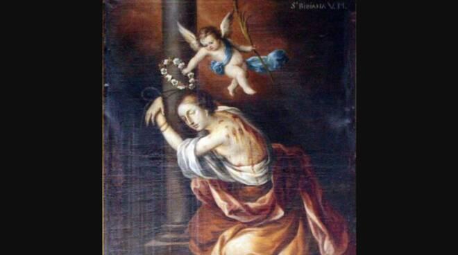 Oggi la Chiesa festeggia Santa Bibiana
