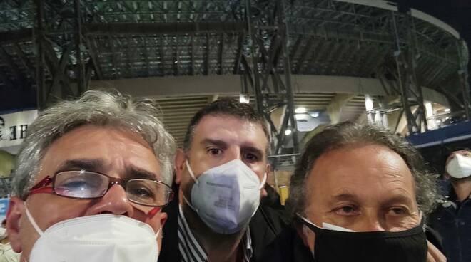 Pasquale Greco, Pasquale Spera e Gigione Maresca a Napoli per Maradona