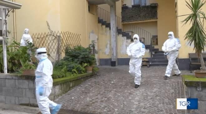 Piano di Sorrento, 37 positivi nella Casa di Riposo di San Michele, il servizio del TG3