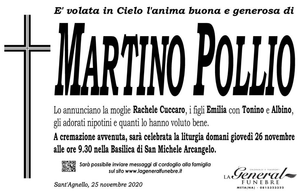 Sant'Agnello/Piano di Sorrento, domani i funerali di Martino Pollio