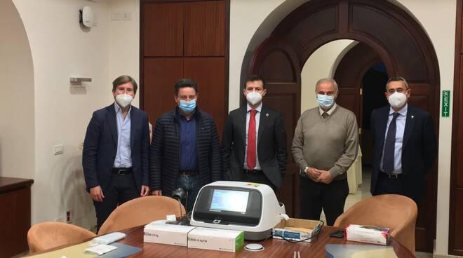 Sorrento. Test antigenici, incontro tra sindaci della penisola sorrentina e delegati della Msc Foundation