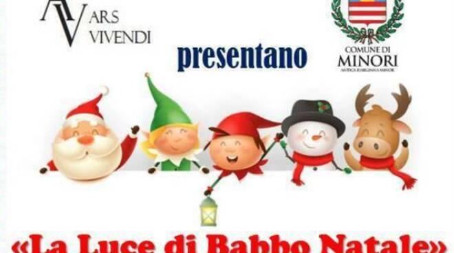 """A Minori """"La luce di Babbo Natale"""", un gesto di speranza per i ragazzi con la consegna di piccoli doni"""