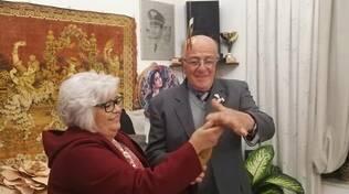 Agatina 50 anni di matrimonio a Positao