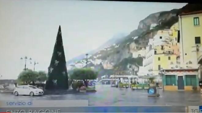 Amalfi, strade vuote per il triste ponte di Natale: il servizio del TG3