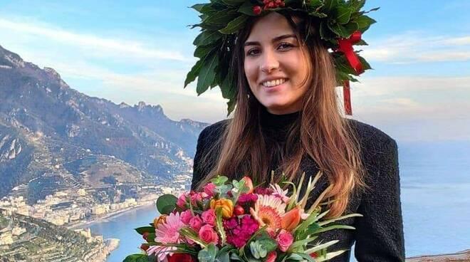 Amalfi, tanti auguri a Federica Dattero per la sua laurea magistrale in Economia!