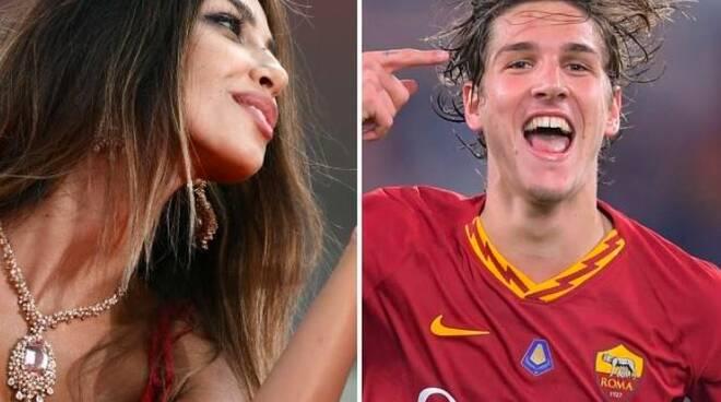 Calcio Roma.Nicolò Zaniolo-  Madalina Diana Ghenea mi ha stregato!!! Tifosi preoccupti